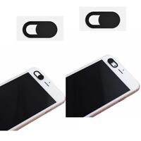 New 2Pcs WebCam Shutter Cover Web Camera Secure Protect your Privacy- Black