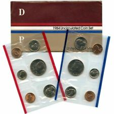 1984 P and D US Mint Uncirculated Coin Set