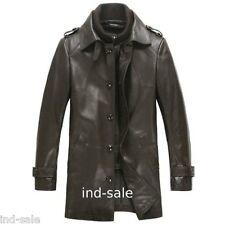 Custom Made All Size Genuine Blazer Leather Jacket Pea Coat Designer Handcrafted