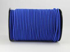 (0,70 Euro/m) 8mm Expanderseil blau 30m Gummi blau Planen Spann elast. Seil