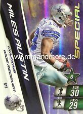 Adrenalyn XL NFL - Miles Austin - Cowboys - #18 Special