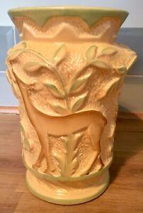 Burleigh Ware Art Deco Vase Deer