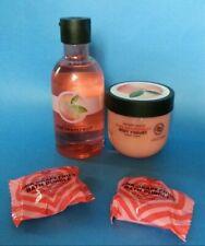 Bodyshop Pink Grapefruit Shower Gel Body Yogurt Bath Bubbles Gift Set