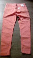 Señoras M&S Super Skinny Fit mediados de subida Jegging Denim Jeans Pantalones Tamaño 10 Etiquetas