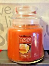 * YANKEE CANDLE * PUMPKIN PIE *  14.5 OZ. ~  SO YUMMY