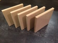 10 free standing plaques 200mmx200mx18mm
