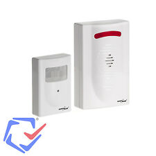Funk Alarmanlage mini Bewegungsmelder Alarm Sensor Funksignal Wireless Infrarot