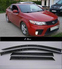 Side Window Visors Sun Guard Vent Deflectors for Kia Cerato Koup 2009-2012