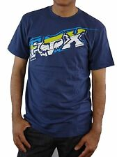 Fox Racing Men's SWITCH Short Sleeve Cotton T-Shirt Motocross Jersey Navy
