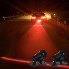 Universel Voiture Chaud Lampe Alarme Laser Brouillard Feu Arrière Anti-collision