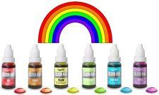 Rainbow Dust color Flo concentrado Líquido comestible aire comprimido