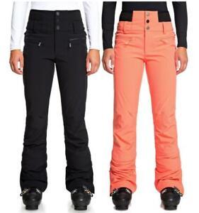 Women's ROXY Rising High Waist Pants Snowboard Ski Snow Skinny Fit (ERJTP03085)