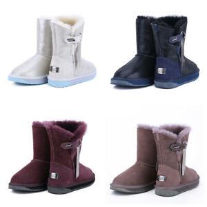Women Ladies ClassicTassel UGG Boots Water Resistant Premium Australia Sheepskin