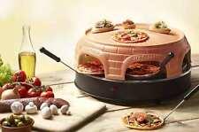 Pizza-Ofen Pizzarette für 6 Personen Emerio PO115848 Terrakotta Mini-Pizza-Maker