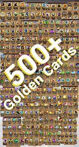 7yr+ Hearthstone Account - $10,000 Value