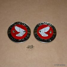 Honda Z50 Minitrail Gas Fuel Tank Emblem Badge SET WITH SCREWS z 50 K0 K1