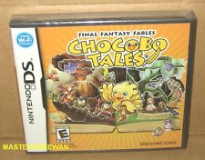 Final Fantasy Fables Chocobo Tales New Sealed (Nintendo DS, 2006)
