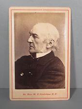 Cabinet Card Photograph of William E Gladstone MP