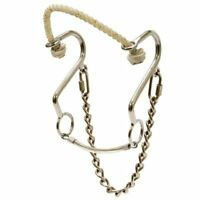 Rope Nose Little S Hackamore With Stainless Steel Cheeks Horse Size