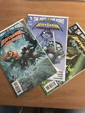 Batman The Hunt For Robin 29 31 32 Lot Aquaman Frankenstein Ras Al Ghul