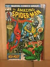 Amazing Spiderman #124 Very Fine Plus Plus Condition  (inv2) ORIGIN OF MANWOLF