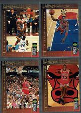 1994 Upper Deck Collector's Choice International Italian #211-218 Michael Jordan