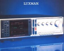 LUXMAN RX-101 Digital Synthesized AM/FM STEREO RECEIVER Made in Japan