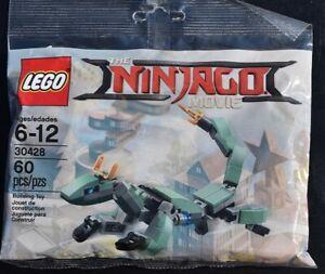 LEGO 30428 The LEGO Ninjago Movie Green Ninja Mech Dragon NEW Polybag