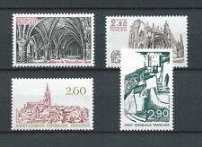 SERIE TOURISTIQUE - 1981 YT 2160 à 2163 - TIMBRES NEUFS** LUXE