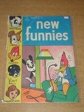 NEW FUNNIES #106 G (2.0) ANDY PANDA WOODY WOODPECKER DELL COMICS DECEMBER 1945