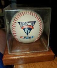 "CREST TOOTHPASTE ""Caring Team of Athletes"" Facsimile Signed Baseball w/ Case"