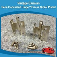 Caravan Semi Concealed Cupboard Door Hinges Vintage Viscount, Franklin, Millard,