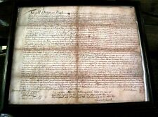 New Listing1694 Mather Salem Witch Trials Sewall American Colonial Manuscript Occult Vellum