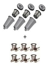 3 My K-Cup Style Reusable Filters for Keurig PLUS 6  EXTRA Baskets!