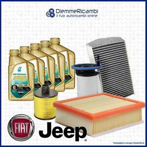 Kit Tagliando Fiat 500X Jeep Renegade 1.6 D Multijet 2.0 CRD - Filtri + Selenia