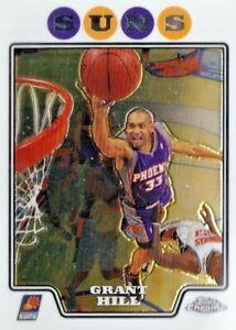 2008-09 Topps Chrome - Grant Hill #84 - Phoenix Suns