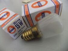 Bombilla Osram Twin Pack 15W Refrigerador/Congelador aparato enana Luz 240V 28mm. 13