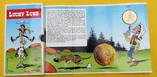 LUCKY LUKE  MORRIS 50 ANS MONNAIE DE ROYALE DE BELGIQUE 1996 TBE