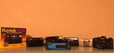 Lot Of 35mm 110 Aps Film Point And Shoot Cameras Nikon Minolta Kodak Not Tested