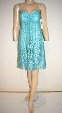 NWT Blue Glitter Tulle Cocktail Dress by Wendye Chaitin for Jump Apparel Sz 5/6