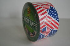 DUCT TAPE DUCK BRAND US FLAG STARS STRIPES USA AMERICA RED WHITE BLUE PRINT