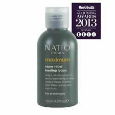 NATIO For Men Maximum - Aftershave - Razor Relief Healing Lotion - 125mL