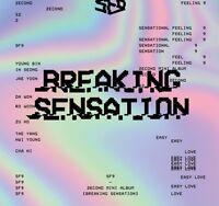 K-POP SF9 2nd Mini Album [Breaking Sensation] CD + Photobook + Photocard Sealed