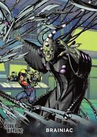 BRAINIAC / DC Comics Super-Villains (Cryptozoic 2015) BASE Trading Card #12