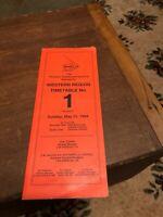 1989 Railroad Employee Timetable ETT Atchison Topeka & SANTA FE No.1 Western Reg