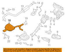 VOLVO OEM 15-16 XC70 2.0L-L4-Exhaust Muffler-Rear 31392840