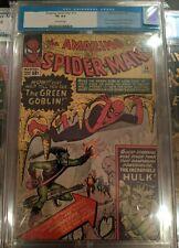Amazing Spiderman #14 CGC 4.01st Goblin & PGX 4.0 #6 Lizard & #9 Electro Lot!
