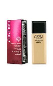 Shiseido Sheer & Perfect Foundation SPF 18 - #O80 Deep Ochre 30ml/1oz