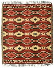#5000 Vibrant Luxury Trade Blanket Native American Style Throw Home Decor 4'x5'