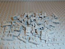 LEGO® 50 neuhellgrau/LightBluishGray 1x2 Scharnierplatten mit Clip 92280 NEUWARE